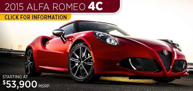 Research New Alfa Romeo Models Tacoma WA - Alfa romeo model