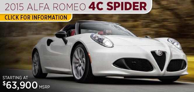 Research New Alfa Romeo Models Tacoma WA - Alfa romeo spider accessories