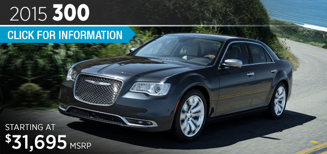 Click to View 2015 Chrysler 300 Model Details in Tacoma, WA