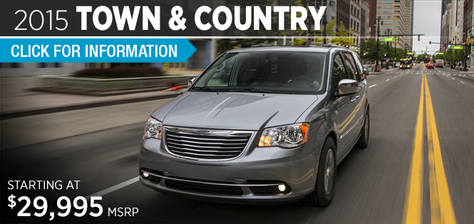 Click to View 2015 Chrysler Town & Country Model Details in Tacoma, WA