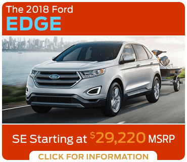 Browse our 2018 Edge model information at Eddy's Ford of Augusta serving Wichita, KS
