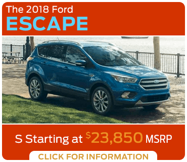 Click to research the 2018 Escape model at Eddy's Ford of Augusta