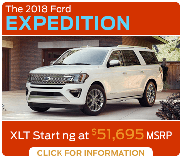 Click to research the 2018 Expedition model at Eddy's Ford of Augusta
