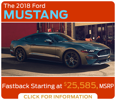 Click to research the 2018 Mustang model at Eddy's Ford of Augusta