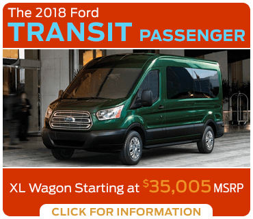 Browse our 2018 Transit Passenger Van model information at Eddy's Ford of Augusta serving Wichita, KS