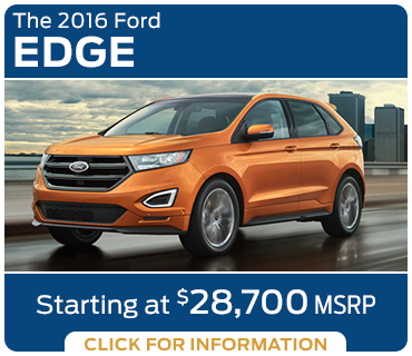 Click to learn more about the new 2016 Ford Edge model