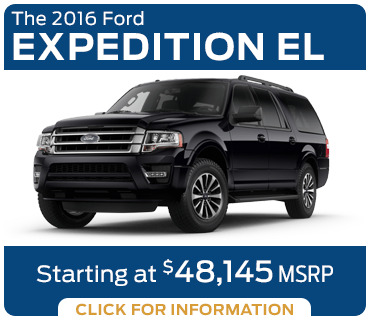 Click to Research The New 2016 Ford Expedition EL Model in Tacoma, WA