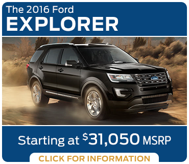 Click to learn more about the new 2016 Ford Explorer model