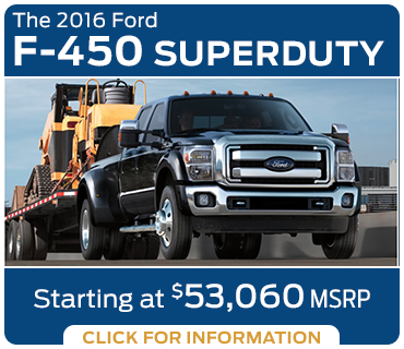 Click to learn more about the new 2016 Ford F-450 model