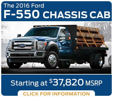 Click to learn more about the new 2016 Ford F-550 model