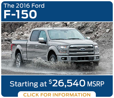 Click to learn more about the new 2016 Ford F-150 model