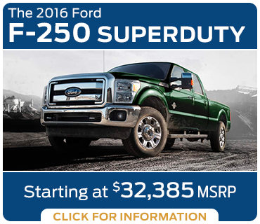 Click to learn more about the new 2016 Ford F-250 model