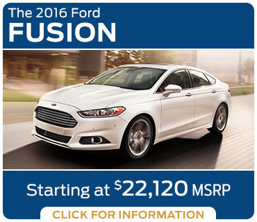 Click to learn more about the new 2016 Ford Fusion model