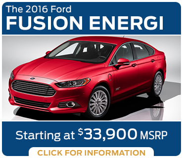 Click to Learn More About The New 2016 Ford Fusion Energi Model in Tacoma, WA
