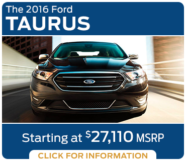 Click to learn more about the new 2016 Ford Taurus model