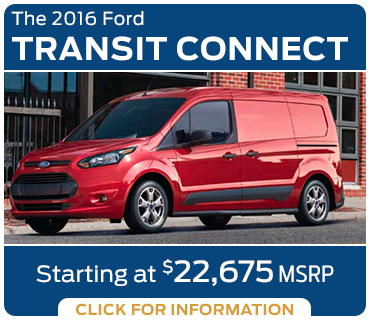 Click to learn more about the new 2016 Ford Transit Connect model