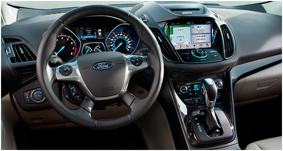 2016 Ford Escape interior (2)