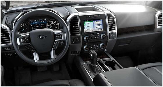 2016 Ford F-150 interior (2)