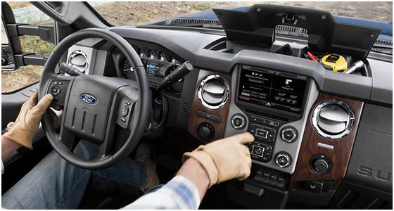 2016 Ford F-250 interior (2)