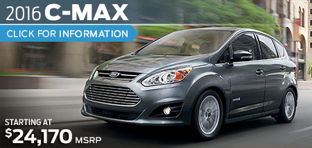 Click to Research The New 2016 Ford C-Max Hybrid Model in Lakewood, WA