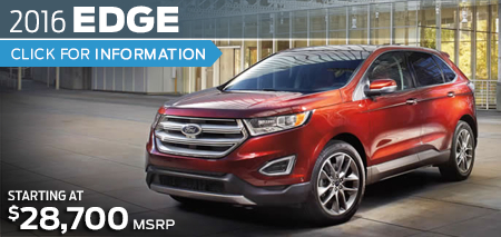 Click to Research The New 2016 Ford Edge crossover Model in Lakewood, WA