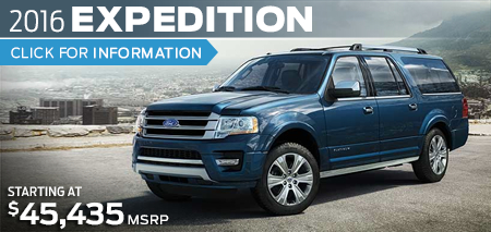 Click to Research The New 2016 Ford Expedition Model in Lakewood, WA