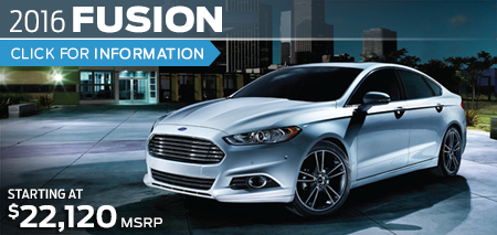 Click to View 2016 Ford Fusion Model Information