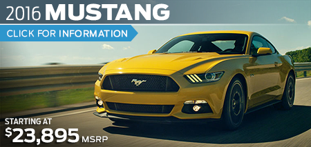 Click to Research The New 2016 Ford Mustang Model in Lakewood, WA