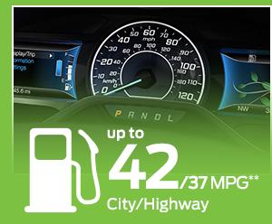 2016 Ford C-Max Hybrid MPG