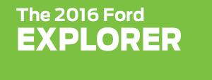 2016 Ford Explorer Model