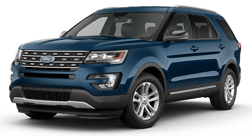 2016 Ford Explorer Model Exterior Styling