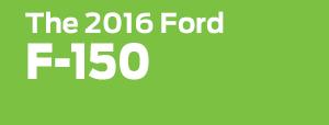 2016 Ford F-150 Model