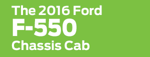 2016 Ford F-550 Model