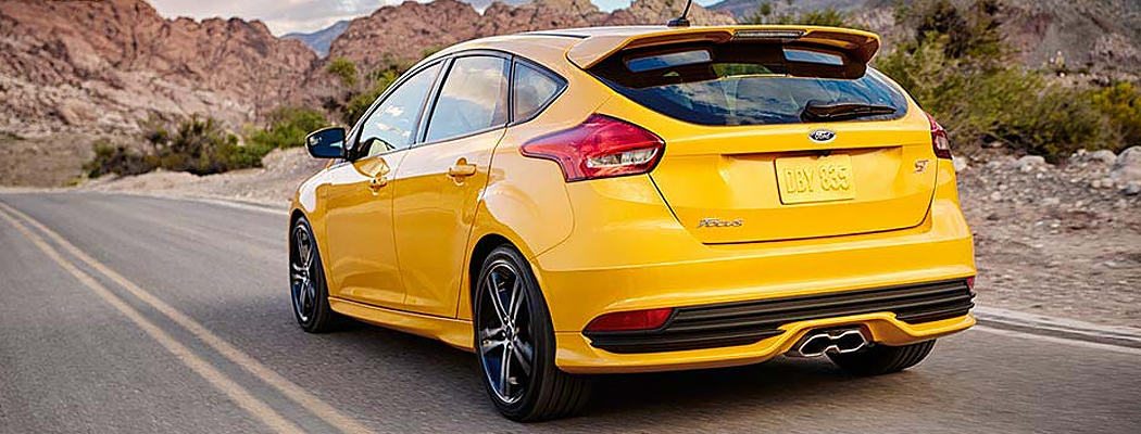 New 2016 Ford Focus ST Model Details