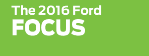2016 Ford Focus Model