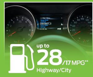 2016 Ford Mustang Model MPG