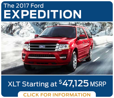 Click to research the new 2017 Ford Expedition model in Tacoma, WA