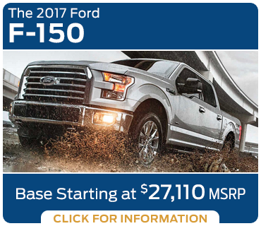 Click to research the new 2017 Ford F-150 model in Tacoma, WA