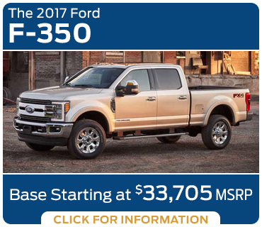 Click to research the new 2017 Ford F-350 model in Tacoma, WA