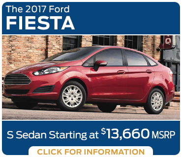 Click to research the new 2017 Ford Fiesta model in Tacoma, WA