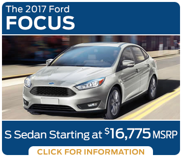Click to research the new 2017 Ford Focus model in Tacoma, WA