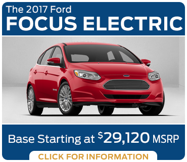 Click to research the new 2017 Ford Focus Electric model in Tacoma, WA