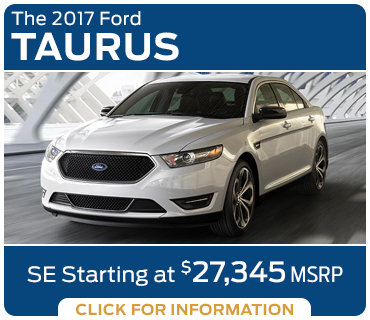 Click to research the new 2017 Ford Taurus model in Tacoma, WA