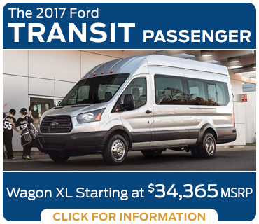 Click to research the new 2017 Ford Transit Passenger Wagon model in Tacoma, WA
