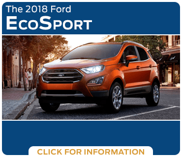 Click to research the 2018 Ford EcoSport model in Tacoma, WA