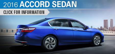 Click to Research The New 2016 Honda Accord Sedan Model in Chicago, IL