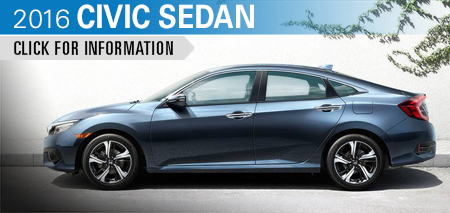 Click to Research The New 2016 Honda Civic Sedan Model in Chicago, IL