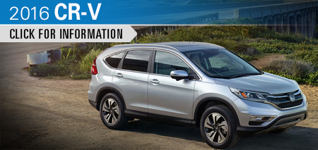 Click to Research The New 2016 Honda CR-V Model in Chicago, IL