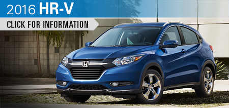 Click to Research The New 2016 Honda HR-V Model in Chicago, IL