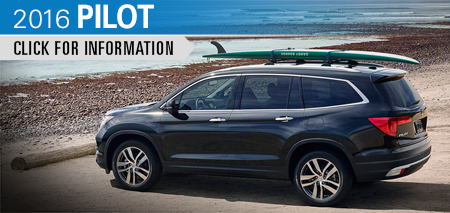 Click to Research The New 2016 Honda Pilot Model in Chicago, IL